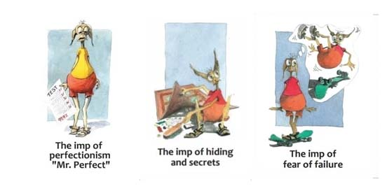 The Soul Creatures' Land therapeutic cards samples