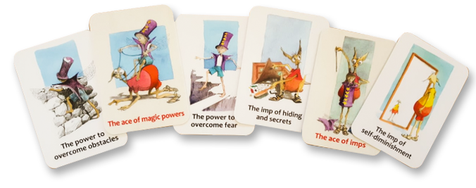 The Soul Creatures' Land therapeutic cards
